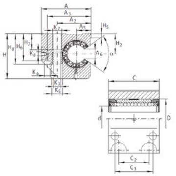 KGNC 25 C-PP-AS INA Ball Bearings Catalogue