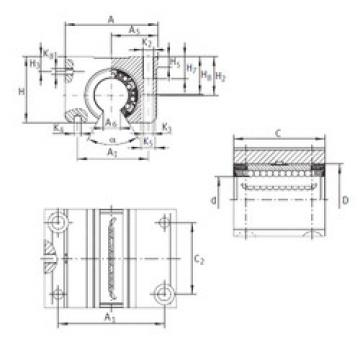 KGNO 30 C-PP-AS INA Linear Bearings