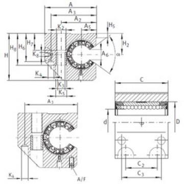 KGNCS 25 C-PP-AS INA Linear Bearings