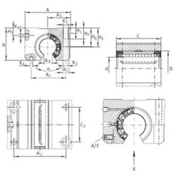 KGNOS 25 C-PP-AS INA Ball Bearings Catalogue