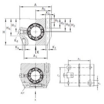 KGNS 50 C-PP-AS INA Linear Bearings