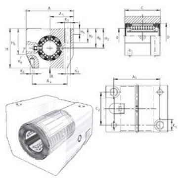 KGSNG25-PP-AS INA Linear Bearings