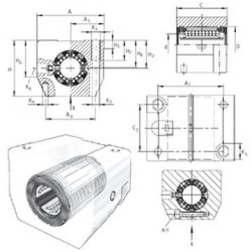 KGSNS40-PP-AS INA Ball Bearings Catalogue