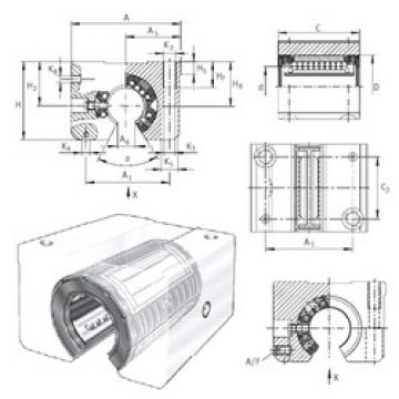 KGSNOS30-PP-AS INA Plastic Linear Bearing