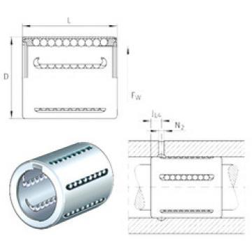 KH06 INA Linear Bearings