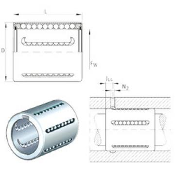 KH25-PP INA Plastic Linear Bearing