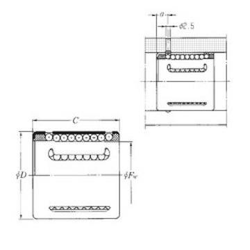 KH1228 NTN Linear Bearings