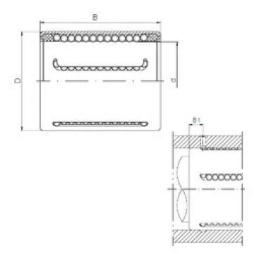 KH1228PP CX Plastic Linear Bearing