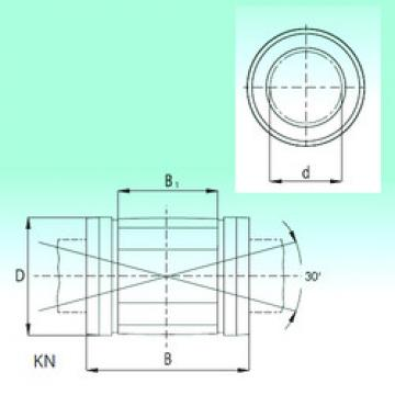 KN1232-PP  Linear Bearings