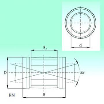 KN2045-PP  Plastic Linear Bearing